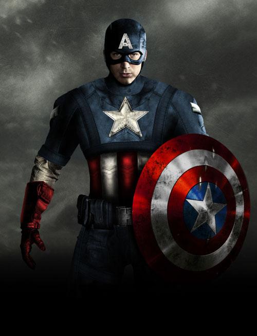 Free Paper Model :: The Avengers :: Captain America