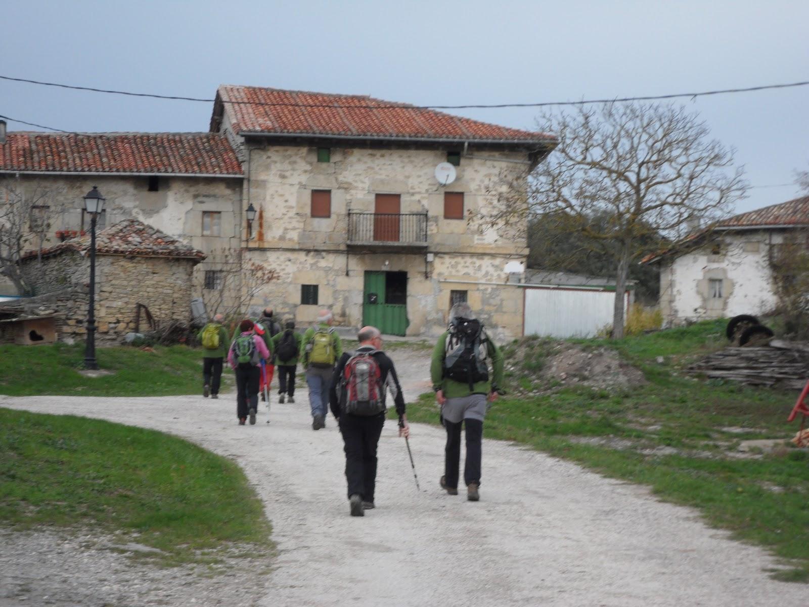 Zaldua Mendi Taldea San Miguel 652 M Mendi Irteera