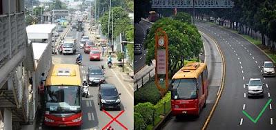 Pelebaran Jalan Busway