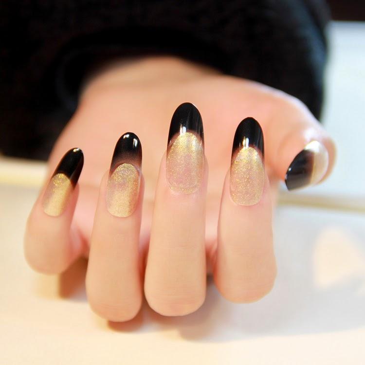 Oval acrylic nails   Nail Art and Tattoo Design Ideas for Fashion
