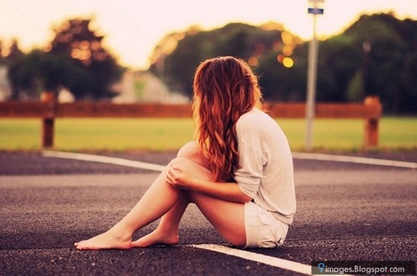 Sad, alone, cute, girl, waiting, someone, beautiful