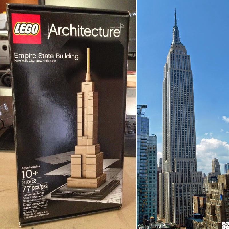 Tenacious Toys Lego Architecture Empire State Building