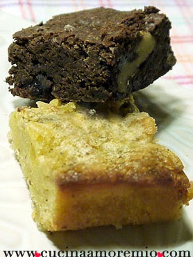 brownies e blondies senza glutine
