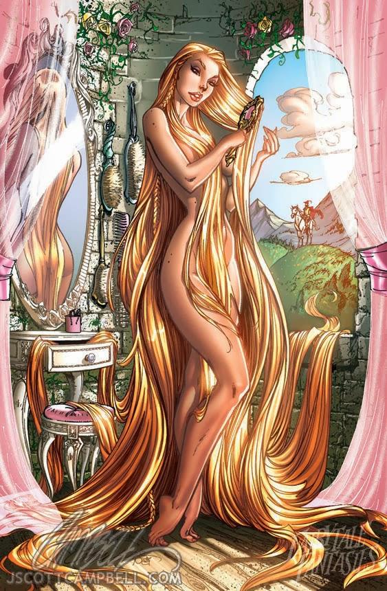 Rapunzel Fairytale Fantasies Disney