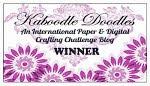 I won at Kaboodle Doodle