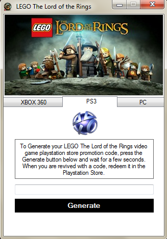 Playstation Store Lego Lord Of The Rings