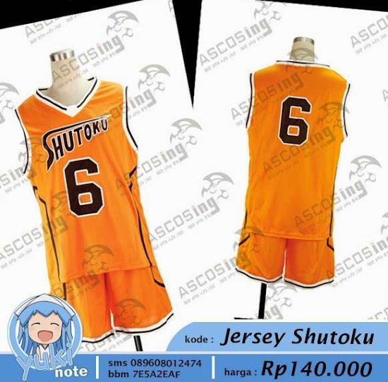 Jual Jersey All Kuroko No Basuke Shutoku