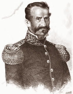 General don Gregorio Aráoz de La Madrid, retrato sin datos del autor tomado de Wikipedia