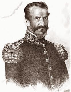 General don Gregorio Aráoz de La Madrid, retrato sin datos del autor tomado de Wikipedia