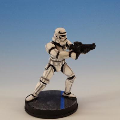 Stormtrooper, Imperial Assault FFG (sculpted by Benjamin Maillet, 2014)