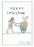 Merry Christmas KES card design