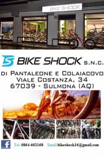 BIKE SHOCK SULMONA - NUOVA APERTURA