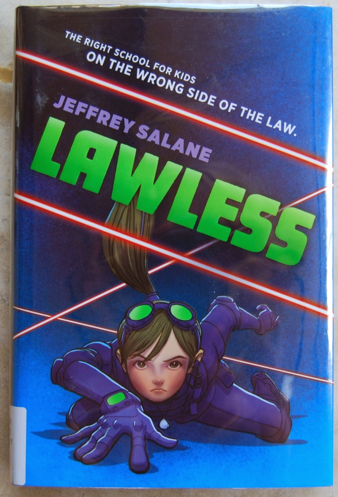 Lawless: Book 1: Jeffrey Salane: 9780545450294: Books - Amazon.ca