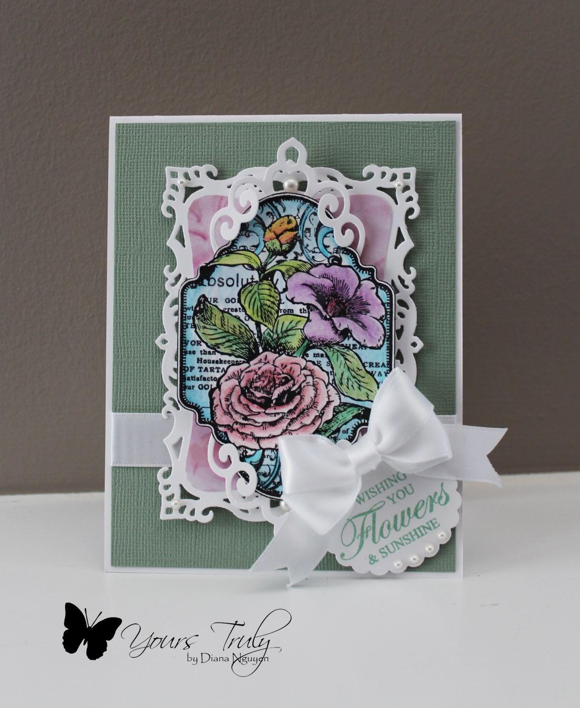 Diana Nguyen, JustRite, handmade card