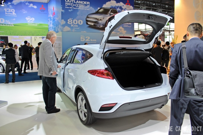Changan at Frankfurt Motor Show 2013