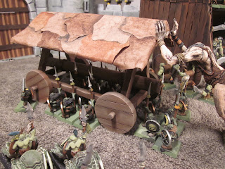 Warhammer Siege Battering Ram with Carriage and Canopy