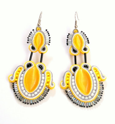 sutasz kolczyki soutache earrings 1