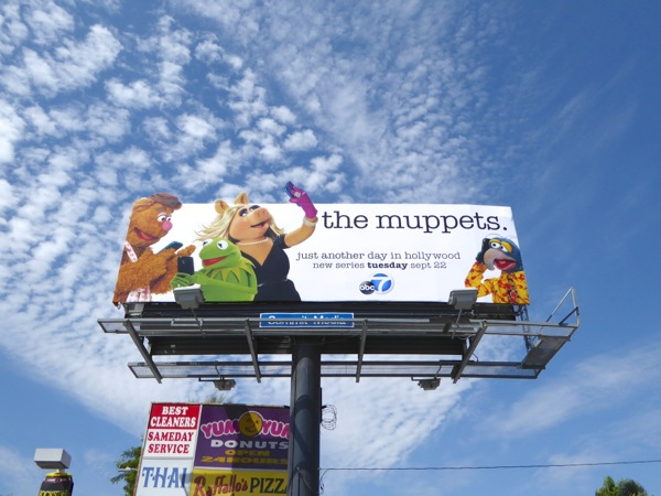 The Muppets series premiere billboard