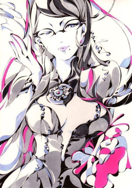 Charmal ilustrações mulheres garotas estilo anime mangá Sensual