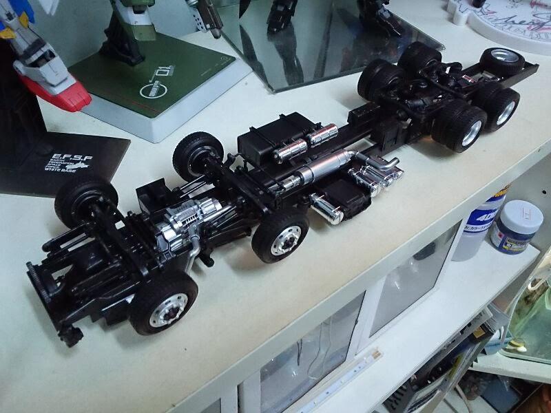 Only One Hobby: 專業 模型 貨櫃車 1/32 Hino Profia Low Floor 4 ...