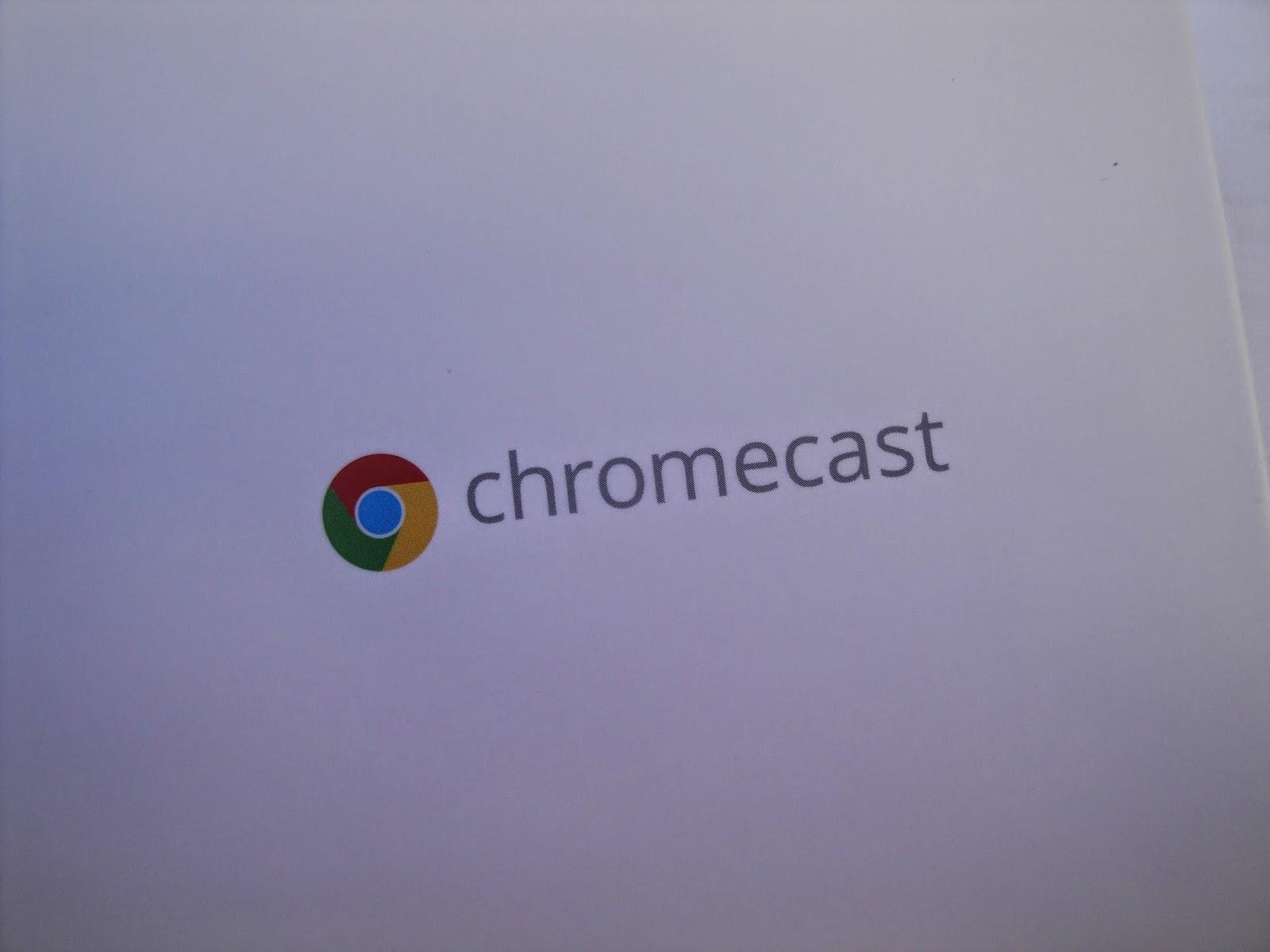 Caixa do chromecast®