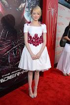Emma Stone Amazing Spider-Man Premiere