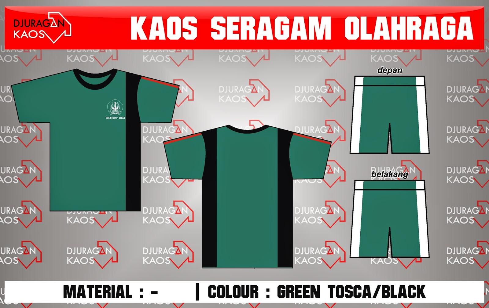 Accecories Design Kaos Seragam Olahraga