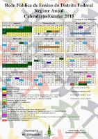 Calendário SEDF/2015
