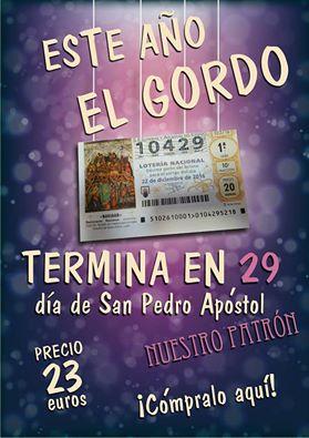Lotería de Navidad. de venta en Alcaldía