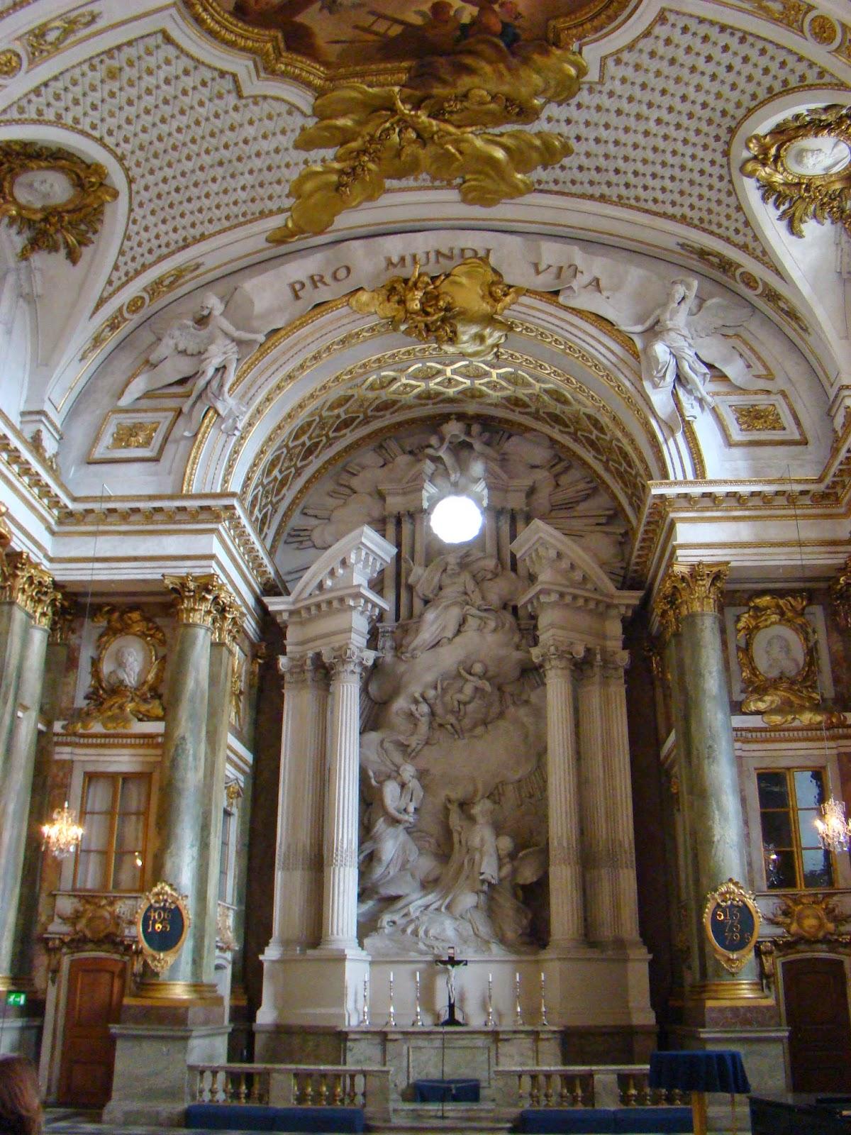 Capilla del Palacio Real, Estocolmo