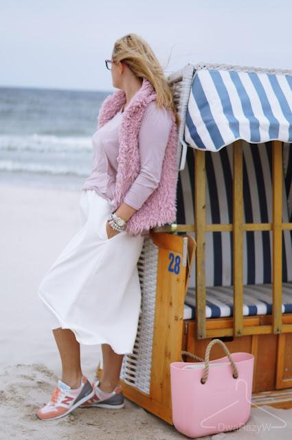 Sylwia Majdan Jenna Valia New Balance Obag pudrowy róż