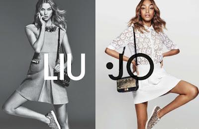 Jourdan Dunn, Karlie Kloss, Liu Jo, moda mujer, mujer, spring 2016, spring summer, Suits and Shirts, woman,