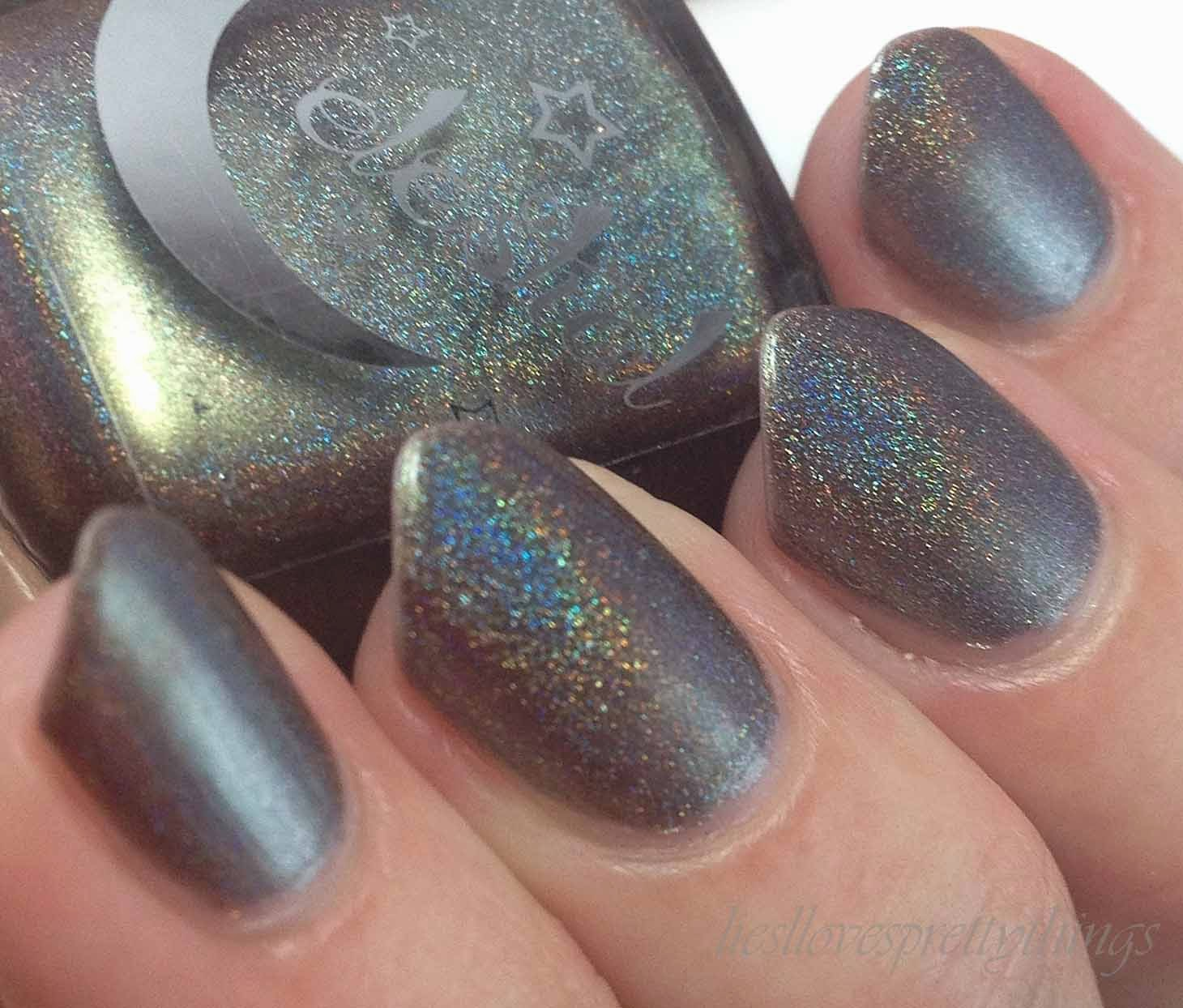 Celestial Cosmetics Meteoroid swatch and review