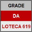LOTECA 619 - MINI GRADE COMPLETA
