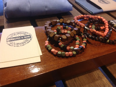 bracelets from Singapore menswear label Crawford and Sons
