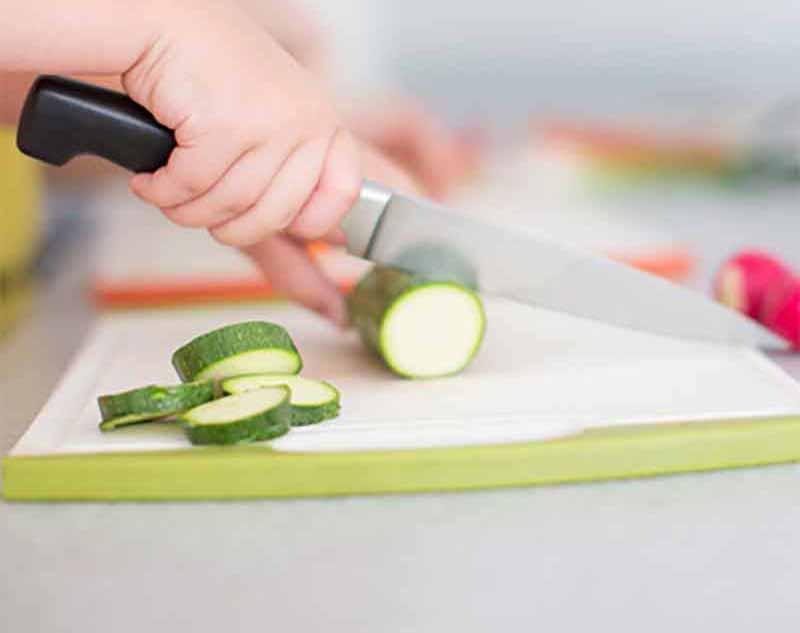 Knife Skills Online Class for Kids!