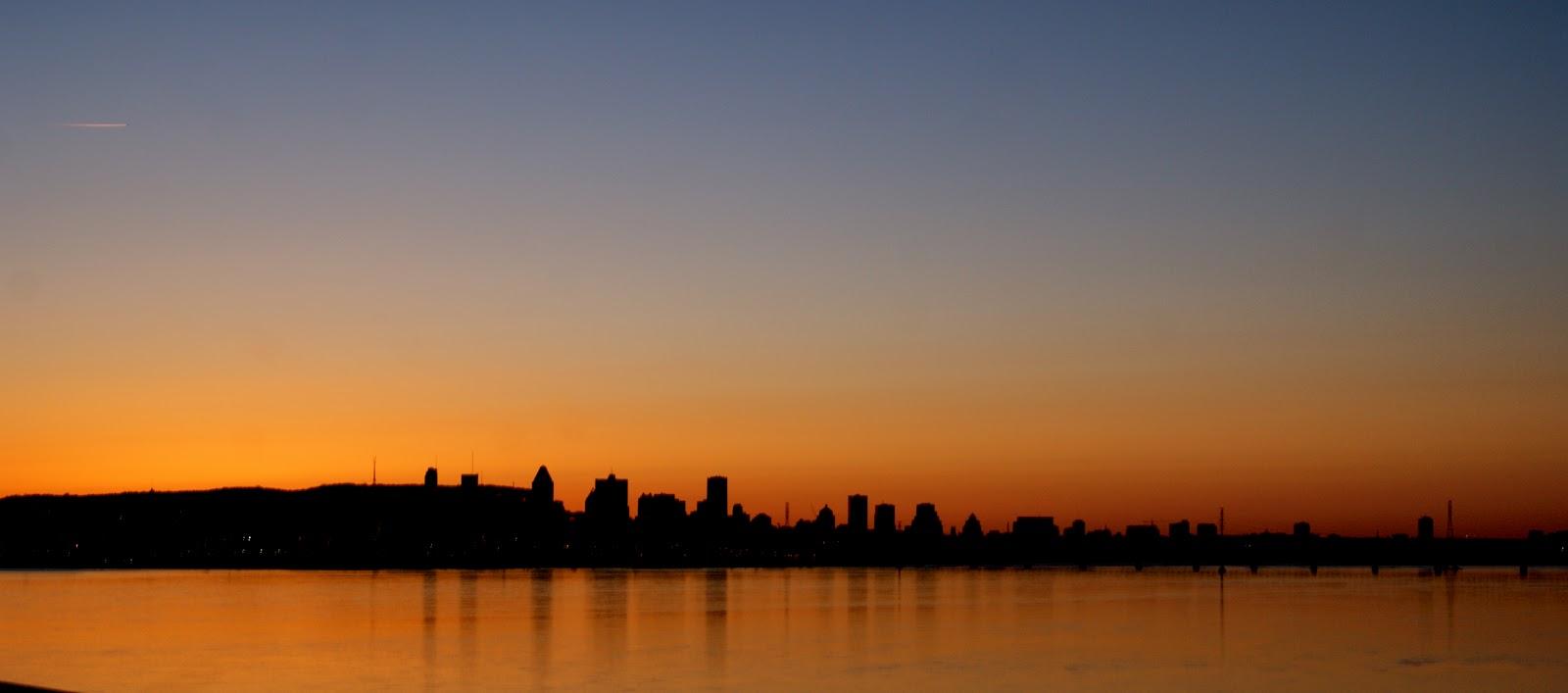 Province canadienne week end dans le western new england - Coucher de soleil montreal ...
