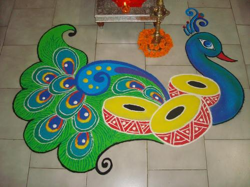 New year rangoli designs 2016