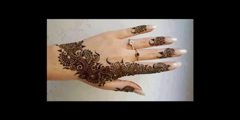 Stunning Henna Tattoo Ideas For Your Wedding