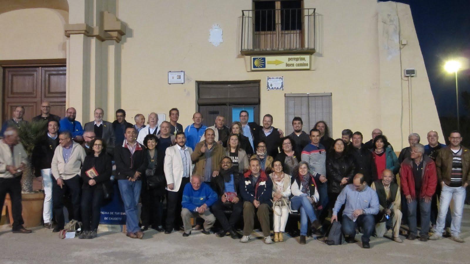 CAUDETE. ENCUENTRO NACIONAL DE ASOCIACIONES DEL CAMINO DE SANTIAGO LEVANTE.SURESTE (28-03-2015)