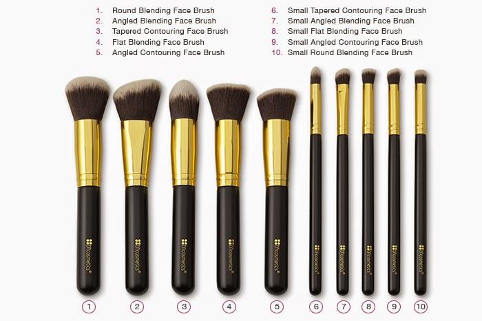 Rese Set Brochas Cosmetics Cil Ser