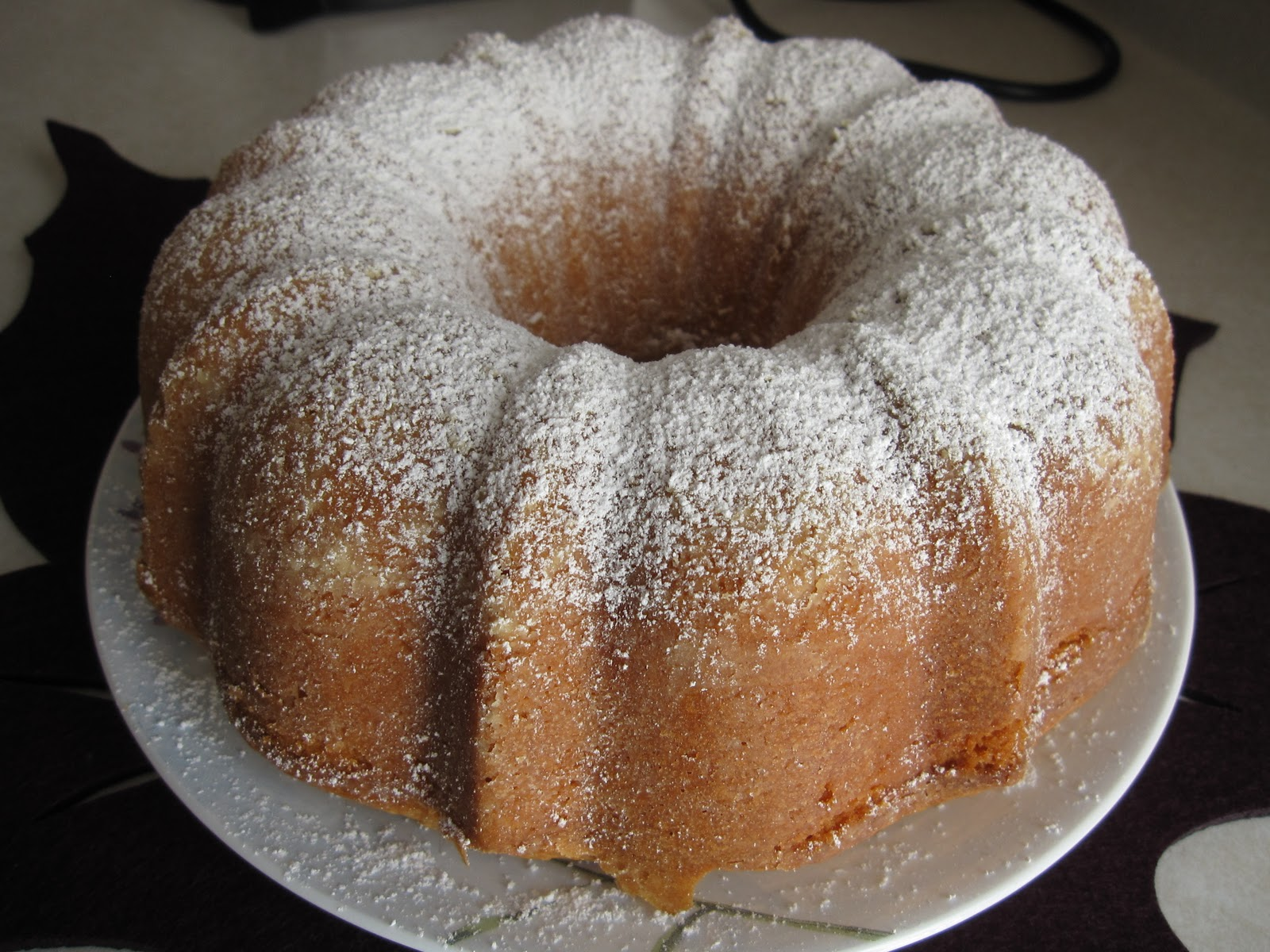 At the Pink of Perfection: Cream Cheese Pound Cake
