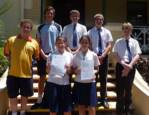 UNSW English Competition Year 8,11  Credit and Distinction  Recipients