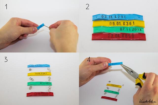 DIY Halskette selbst gemacht Anleitung