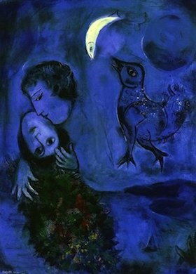 Marc Chagall, Amantes