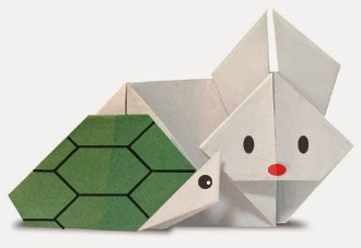 Origami Rabbit And Turtle