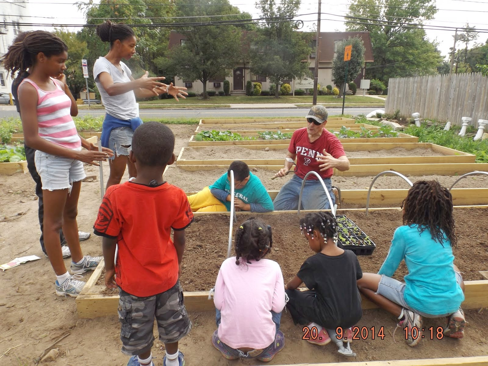Agricultural Engineering: Teaching Garden/Outdoor Classroom