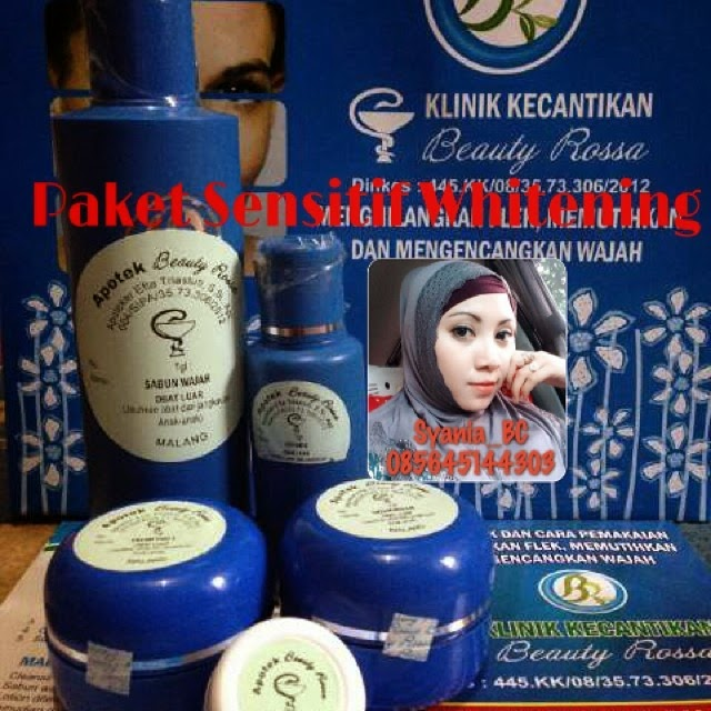 Beauty Rossa Sensitif Whitening