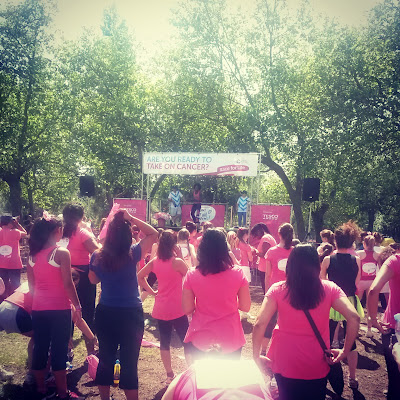 Race for Life - Cancer we're coming to get you, London