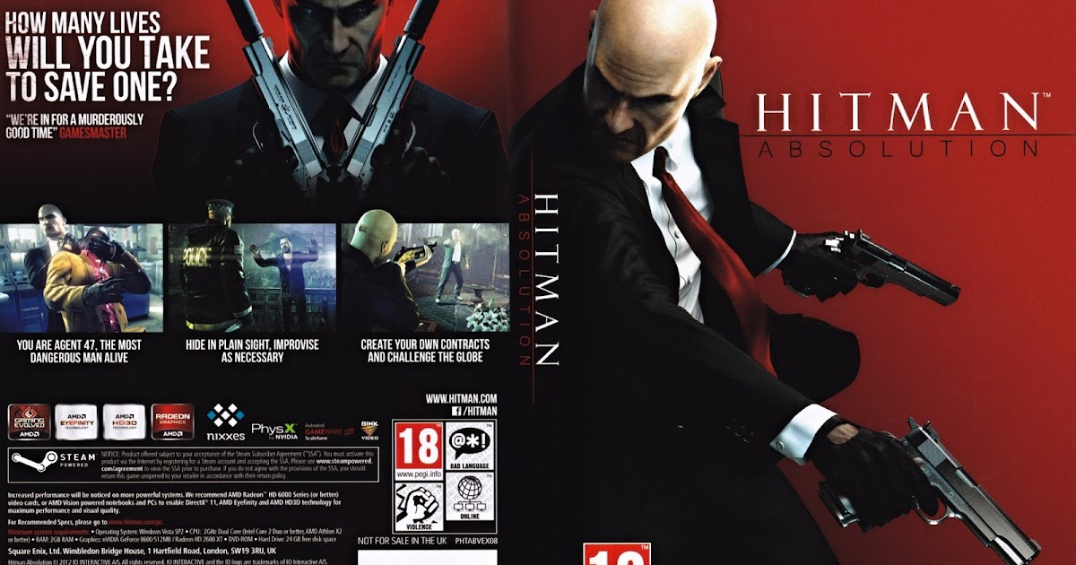 Hitman ABSOLUTIONCRACKSKIDROW - Video